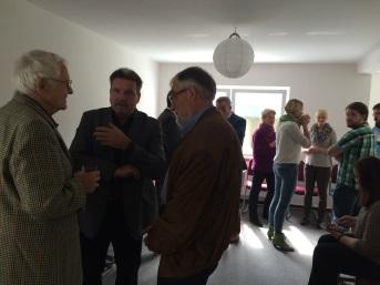 Nachbarn zu Besuch bei Lebensarchitektur